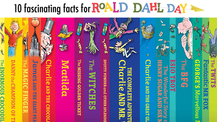 10 Fascinating Facts for Roald Dahl Day