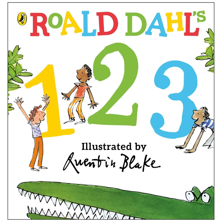 Roald Dahl's 123. A board book based on The Enormous Crocodile for pre-school aged children