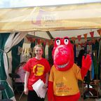 Marvin at the Urdd Eisteddfod festival