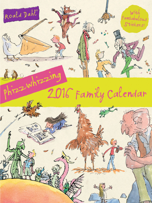 Phizz-Whizzing 2016 Family Calendar