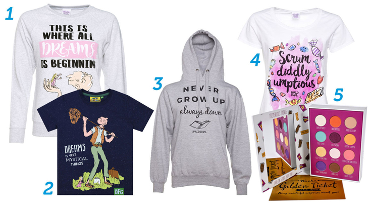 Roald Dahl gifts for fashion lovers