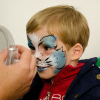 Facepainting on Roald Dahl Day
