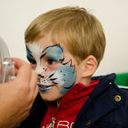 Facepainting Roald Dahl Day