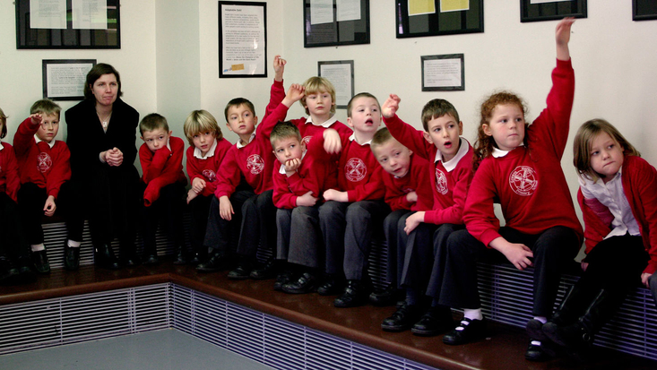 School session in progress