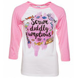 Charlie and the Chocolate Factory Scrumdiddlyumptious t-shirt