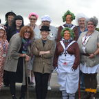 Teachers dressed up as Roald Dahl Characters