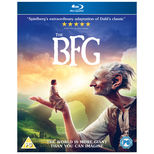 A bluray DVD of Steven Spielberg's The BFG