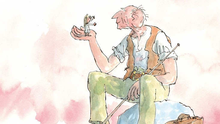 Roald Dahl's The BFG, illustrated by Sir Quentin Blake