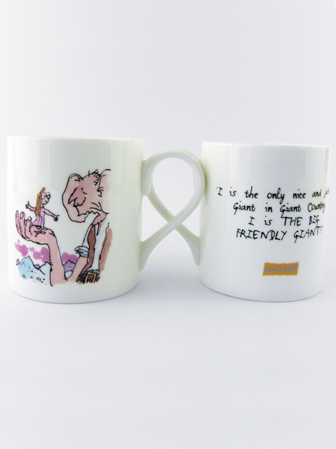 The BFG and Sophie Mug