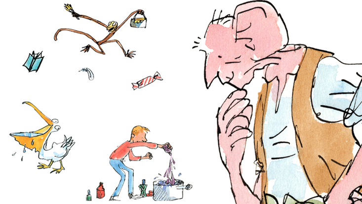 Illustrations by Quentin Blake.