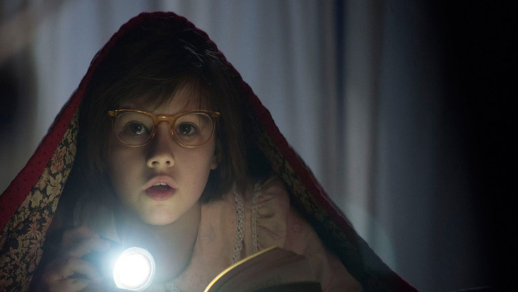 A still from Roald Dahl's The BFG movie