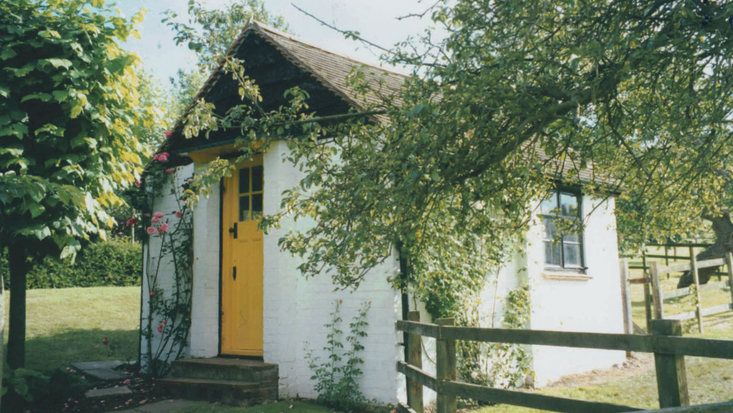 The Exterior of the Writing Hut