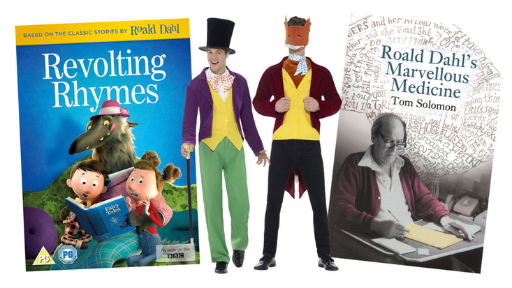Roald Dahl character products