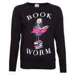 Roald Dahl Matilda Bookworm ladies sweater