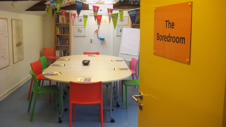 The Boredroom at the Roald Dahl Museum