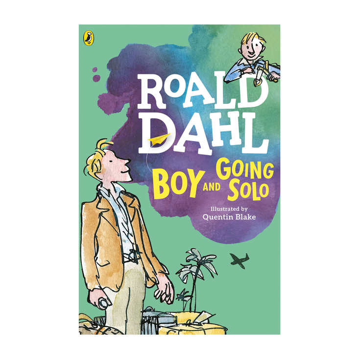 Boy and Going Solo paperback book by Roald Dahl