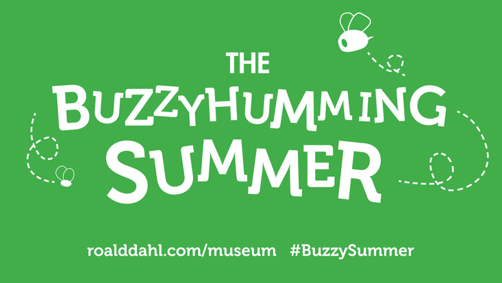 Buzzyhumming summer at the Roald Dahl Museum