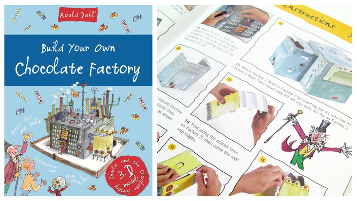 Build Your Chocolate Factory based on Roald Dahl's bestselling book