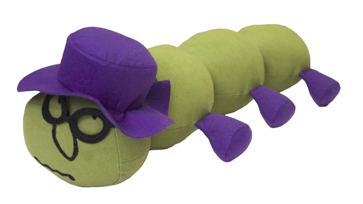 Cuddly Caterpillar from Roald Dahl's James and the Giant Peach