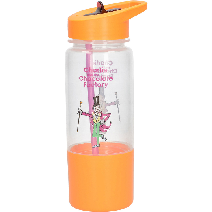 Roald Dahl's Charlie and the Chocolate Factory Hydration Bottle and Snack Pot