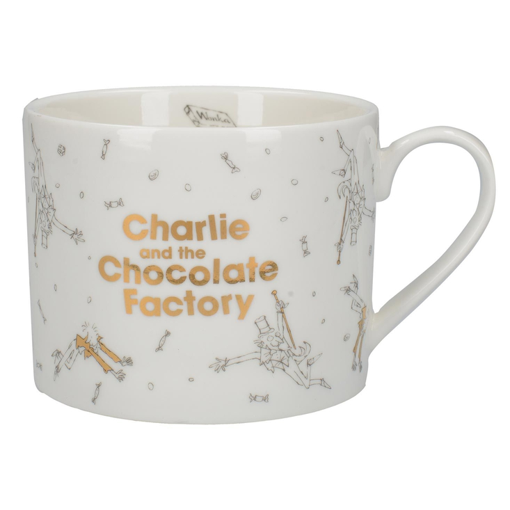 Charlie and the Chocolate Factory can mug