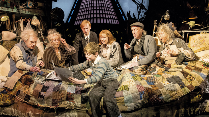 The new musical production of Charlie and the Chocolate Factory at Theatre Royal Drury Lane