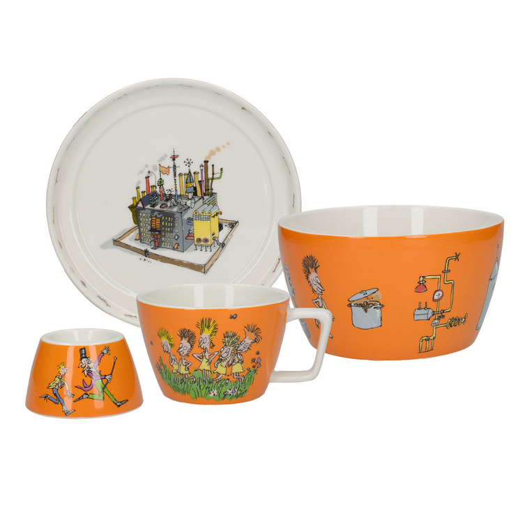 Charlie and the Chocolate Factory Breakfast Set