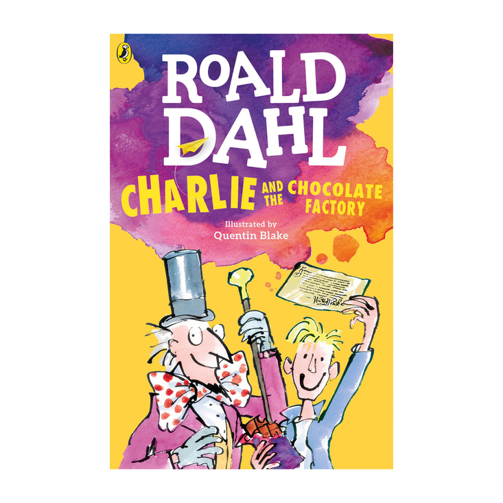 Charlie and the Chocolate factory paperback book by Roald Dahl