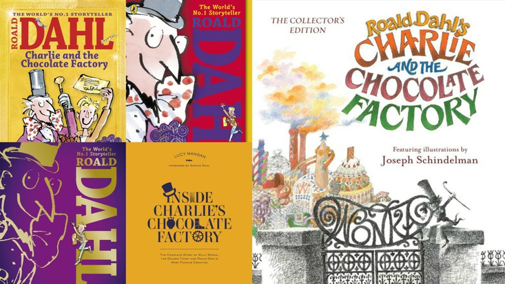 Charlie and the Chocolate Factory 50th anniversary publishing