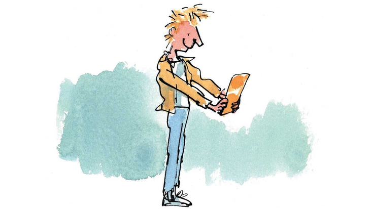 Roald Dahl's Charlie Bucket, illustrated by Quentin Blake