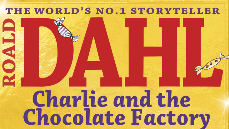 Penguin colour paperback edition of Roald Dahl's Charlie and the Chocolate Factory