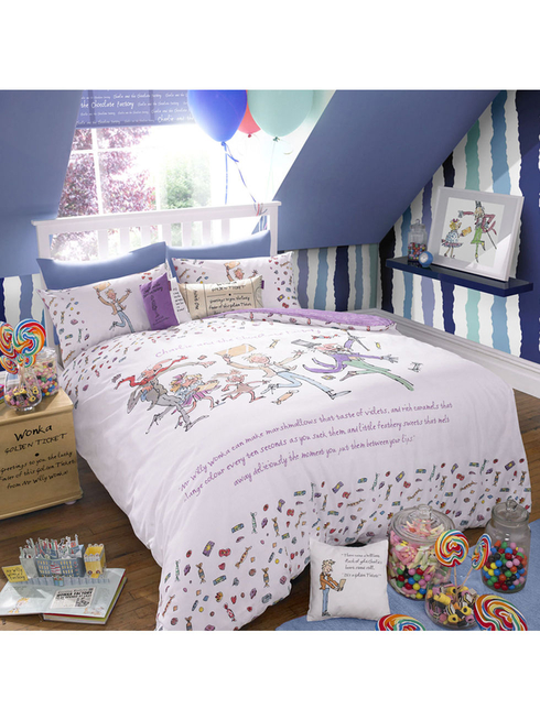 Charlie and the Chocolate Factory Duvet Set