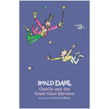 Charlie and the Great Glass Elevator by Roald dahl - hardback book