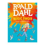 The Magic Finger by Roald Dahl - large colour paperback book