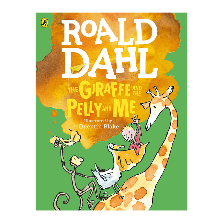 The Giraffe and the Pelly and Me by Roald Dahl - Large Colour Paperback