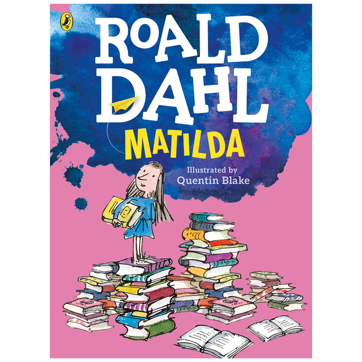 Matilda by Roald Dahl - large colour paperback