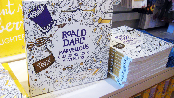 Roald Dahl's Marvellous Colouring Book