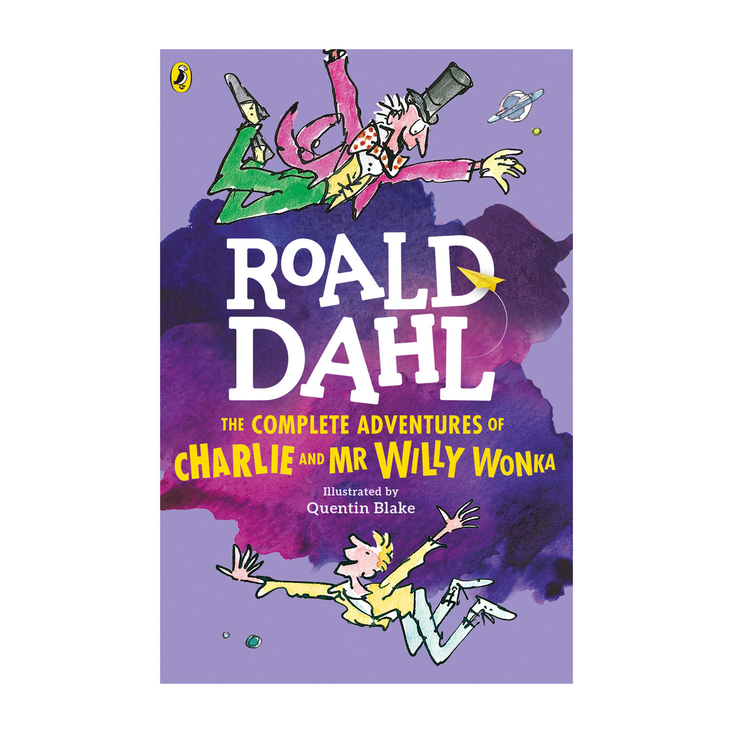 Complete Adventure of Charlie and Mr Willy and Wonka by Roald Dahl - paperback book