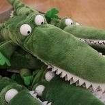 Roald Dahl's The Enormous Crocodile pile of soft toys