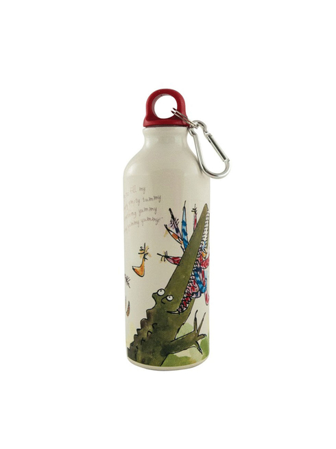 Roald Dahl's The Enormous Crocodile water bottle, illustrated by Quentin Blake