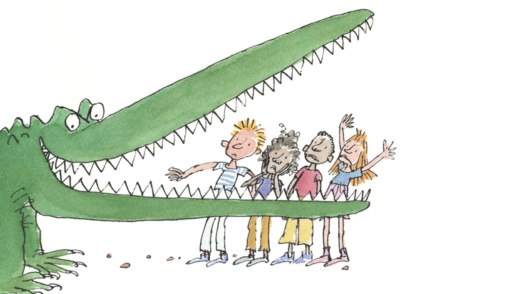 Roald Dahl's Enormous Crocodile, illustrated by Sir Quentin Blake