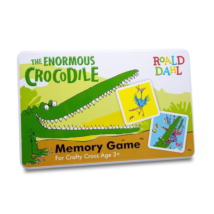 A memory game based on Roald Dahl's The Enormous Crocodile with illustrations by Quentin Blake