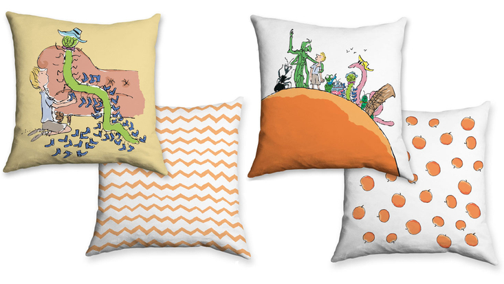 James and the Giant Peach Cushions