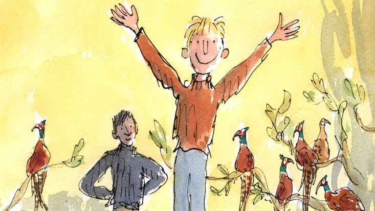 Danny, from Roald Dahl's Danny, the Champion of the World, illustrated by Quentin Blake