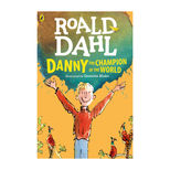 Danny the Champion of the World by Roald Dahl - paperback book