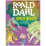 Roald Dahl's Dirty Beasts large colour paperback book