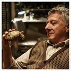 Dustin Hoffman with Alfie the Tortoise, and Judi Dench in Roald Dahl's Esio Trot, to be screened on BBC One Christmas 2014. Photo: Nick Briggs © 2014 Endor Productions