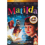A special edition DVD of Danny DeVito's 1996 film version of Matilda, starring Mara Wilson