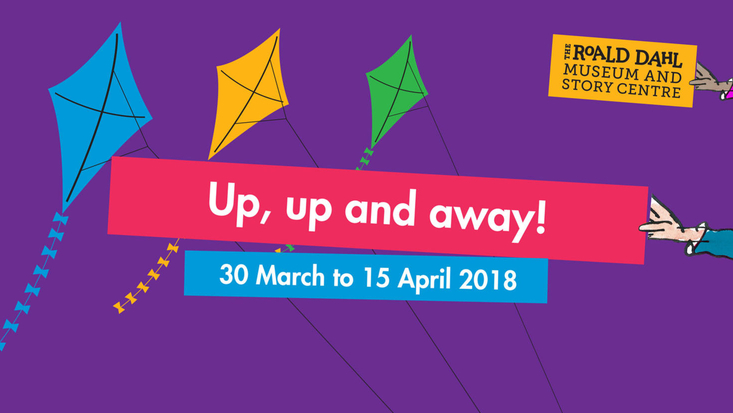 Up, up and away. Easter events at the Roald Dahl Museum