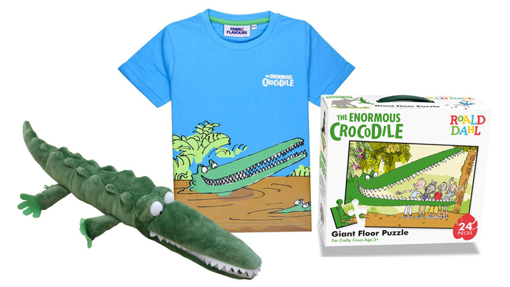 Selection of Enormous Crocodile products